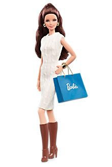 If I was a Barbie. Take a look at this Dark-Haired City Shopper Barbie Doll on zulily today! Mattel Barbie, Barbie And Ken, Barbie Dress, Barbie Clothes, Barbie Outfits, Fashion Dolls, Fashion Sewing, Barbie Style, Barbie Collector