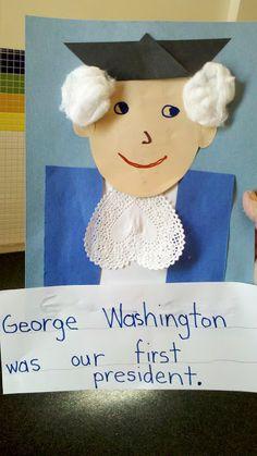 i Heart My Kinder Kids: President's Day Craft