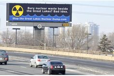 OPP visit opponents of Lake Huron nuclear dump; PRIOR to hearings.-Toronto Star