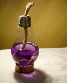 Light Bulb Lamp. #lightbulb by Maiden11976