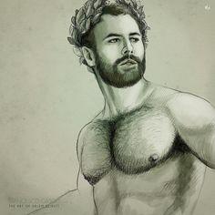 An amazing illustration of myself by talented @salem_beiruti. Thanks buddie!