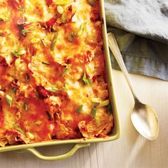 13 Healthy Chicken Casseroles |  CookingLight.com
