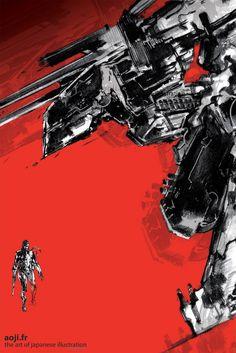 Metal Gear Solid 5 : Une expo parisienne dédiée aux artworks de Shinkawa - Actualités - jeuxvideo.com