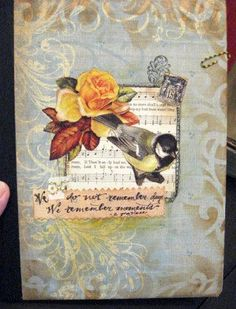 Altered Art Covered Comp Book