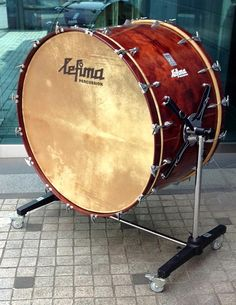 rental Musical instruments bass drum Lefima german  fantastic sound