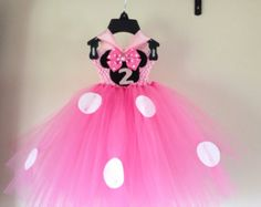 Hot pink 1st birthday minnie mouse inspired by LittledreamsbyMayra
