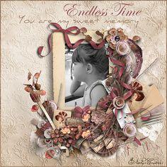 "kit "" Endless Time "" collab by Aurélie and Mel Designs"