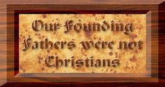 Many are taught that all of our founding fathers built America on a strong christian faith, but did they really...