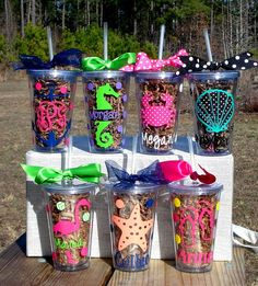 Tumbler with by TheSpunkyRooster Vinyl Crafts, Vinyl Projects, Craft Projects, Vinyl Tumblers, Tumbler Designs, Glitter Cups, Personalized Cups, Silhouette Cameo Projects, Cricut Creations