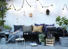 Laid back garden style