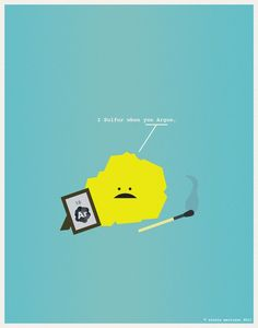 I sulfur when you argon