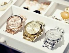 Watch slot for jewelry orangization