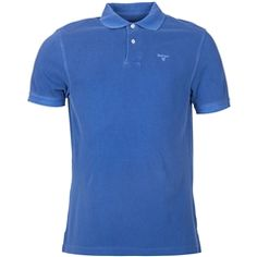 New for 2016 Barbour Washed Sports Polo Shirt - Marine Blue Sports Polo Shirts, Barbour Mens, Barbour International, Marine Blue, Heritage Brands, Fashion Forward, Polo Ralph Lauren, Suits, Mens Tops