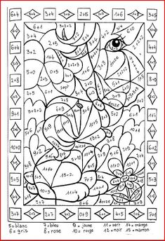 Home Decorating Style 2020 for Coloriage Magique Imparfait, you can see Coloriage Magique Imparfait and more pictures for Home Interior Designing 2020 at Coloriage Kids. Spring Coloring Pages, Animal Coloring Pages, Coloring For Kids, Montessori Math, Homeschool Math, Math For Kids, Fun Math, Year 7 Maths Worksheets, Ivan Cruz