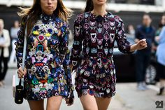 London Fashion Week Spring 2015 Day 3 - The Best of London Fashion Week Spring 2015 Street Style in Photos London Fashion Weeks, Nyc Fashion, Girl Tux, Street Chic, Street Wear, London Street, Couture, Classy Outfits, Dress To Impress