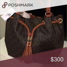 Michael Kors Lrge Tote Handbag LRGE GATHERED TOTE HANDBAG Michael Kors Bags Totes