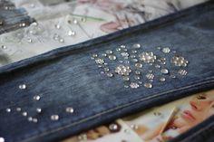 DIY Christopher Kane x J Brand Inspired Jeweled Jeans