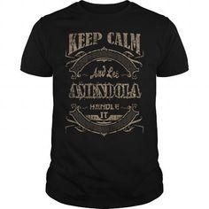 I Love AMENDOLA Tee Tshirt T shirts