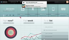 """Pastel is a """"feature packed Dashboard with an intuitive and stunning interface."""" Concur."""