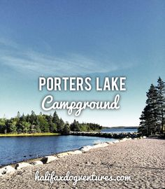 Porters Lake Provincial Park in Porters Lake, Nova Scotia is a very dog-friendly, peaceful getaway just 30 minutes from the City. halifaxdogventures.com Canada Trip, Canada Eh, Canada Travel, Travel Abroad, Nova Scotia, Dog Friends, Best Dogs, Places To Go, Coastal