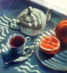 Quand la lumière et l'ombre s'invitent pour le thé... / By Patrick Saunders.
