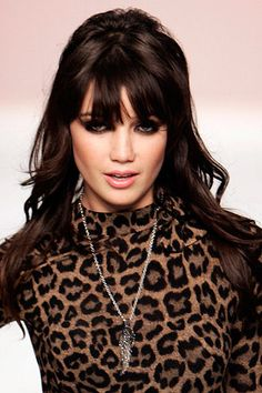 Daisy Lowe - hair and make up