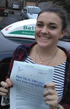 Rhianna Robinson passed FIRST TIME with Paul! Well Done!!