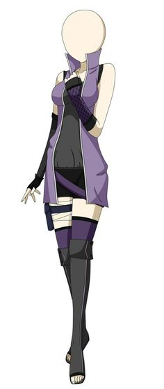 Naruto OC outfit by KendyChii Dress Drawing, Drawing Clothes, Anime Outfits, Cool Outfits, Ninja Outfit, Naruto Oc, Anime Naruto, Hero Costumes, Anime Dress