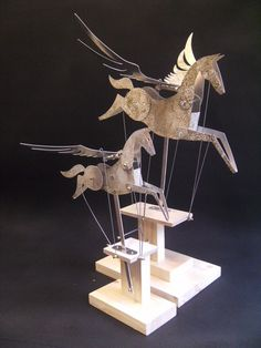 pegasus automata – My sons gave me one of these for Christmas. It is wonderful