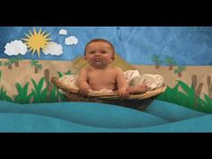 """Funny baby Moses video. Could make a great way to get people interested in learning about """"the rest of the story""""..."""