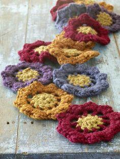 Bloom Scarf Pattern (Crochet)