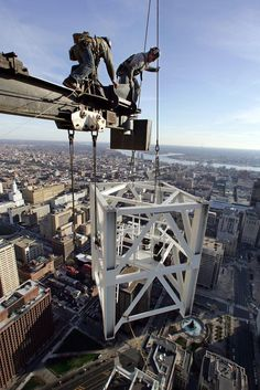 Jumping a Tower Crane.