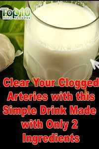 Home Remedies for Clogged Arteries:                                                                                                                                                                                 More