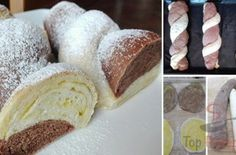 Erdbeer-Philadelphia-Torte Czech Recipes, Hungarian Recipes, Bread And Pastries, Challah, Butter, Sweet And Spicy, Creative Cakes, No Bake Cake, Vanilla Cake