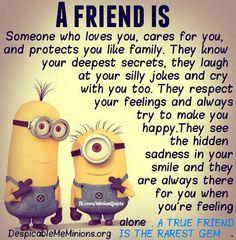 Despicable Me Quotes Friendship. QuotesGram
