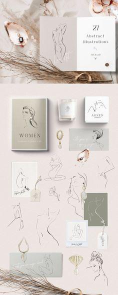 VINTAGE AUTUMN-design collection by NataGabel on @creativemarket #creativemarket #graphicdesign #design #watercolor #bundle #set #female #inspiration #handdrawn #watercolour #art #flowers #background #floral #alphabet