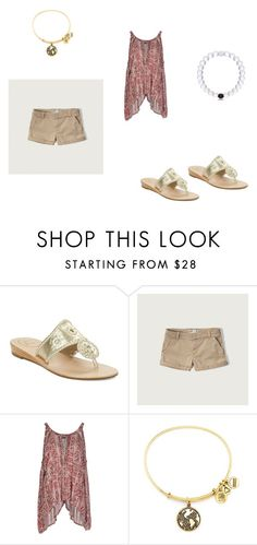 summer by ellaapp on Polyvore featuring Free People, Abercrombie & Fitch, Jack Rogers, Alex and Ani, women's clothing, women's fashion, women, female, woman and misses