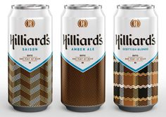 Mint Design: Hilliards Brewery Packaging and Collateral