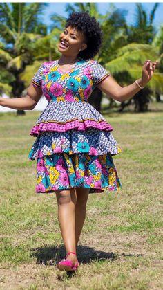 55 most Beautiful Ankara Pattern Styles for Ladies, Ankara gown styles, Ankara Styles Best Ank African Fashion Ankara, Latest African Fashion Dresses, African Dresses For Women, African Print Dresses, African Print Fashion, African Attire, African Prints, African Style, African Clothes