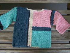 Girl's Colorblock Sweatersize 2 PRICE by StitchesintheNight