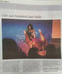 The voice of DaDa | The Magdalena Project - international network of women in theatre