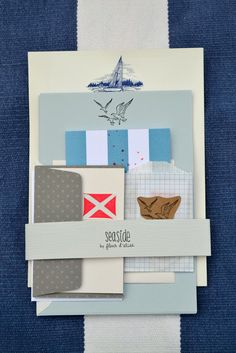 Seaside Stationery Set - Available on Etsy
