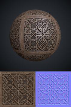 Moorish lattice texture by Leonid-k on deviantART