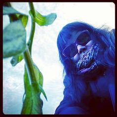 #jäisessä #puutarhassa #omakuvia #selfportraitsz