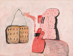 Philip Guston. Untitled, 1971. Oil on paper mounted on canvas. Private Collection, Woodstock, NY. © Estate of Philip Guston; image courtesy McKee Gallery, New York, NY.