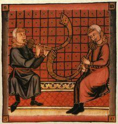 Spain-Alfonso X (1221-1285) Cantigas http://www.pbm.com/~lindahl/cantigas/images/cantiga_11.jpg