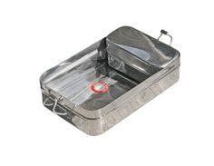 Amazon.com: Square Indian-Tiffin Box Stainless Steel with Additional Container: Office Products