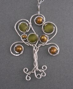 tree bead and wire