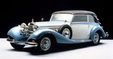1936 Mercedes-Benz Cabriolet B 4235 Mercedes 500, Mercedes Benz Maybach, Retro Cars, Vintage Cars, Antique Cars, Classic Motors, Classic Cars, Automobile, Mercedez Benz