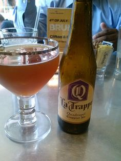 A sweet trappist beer